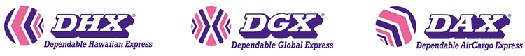 three logos: DHX, DGX, DAX